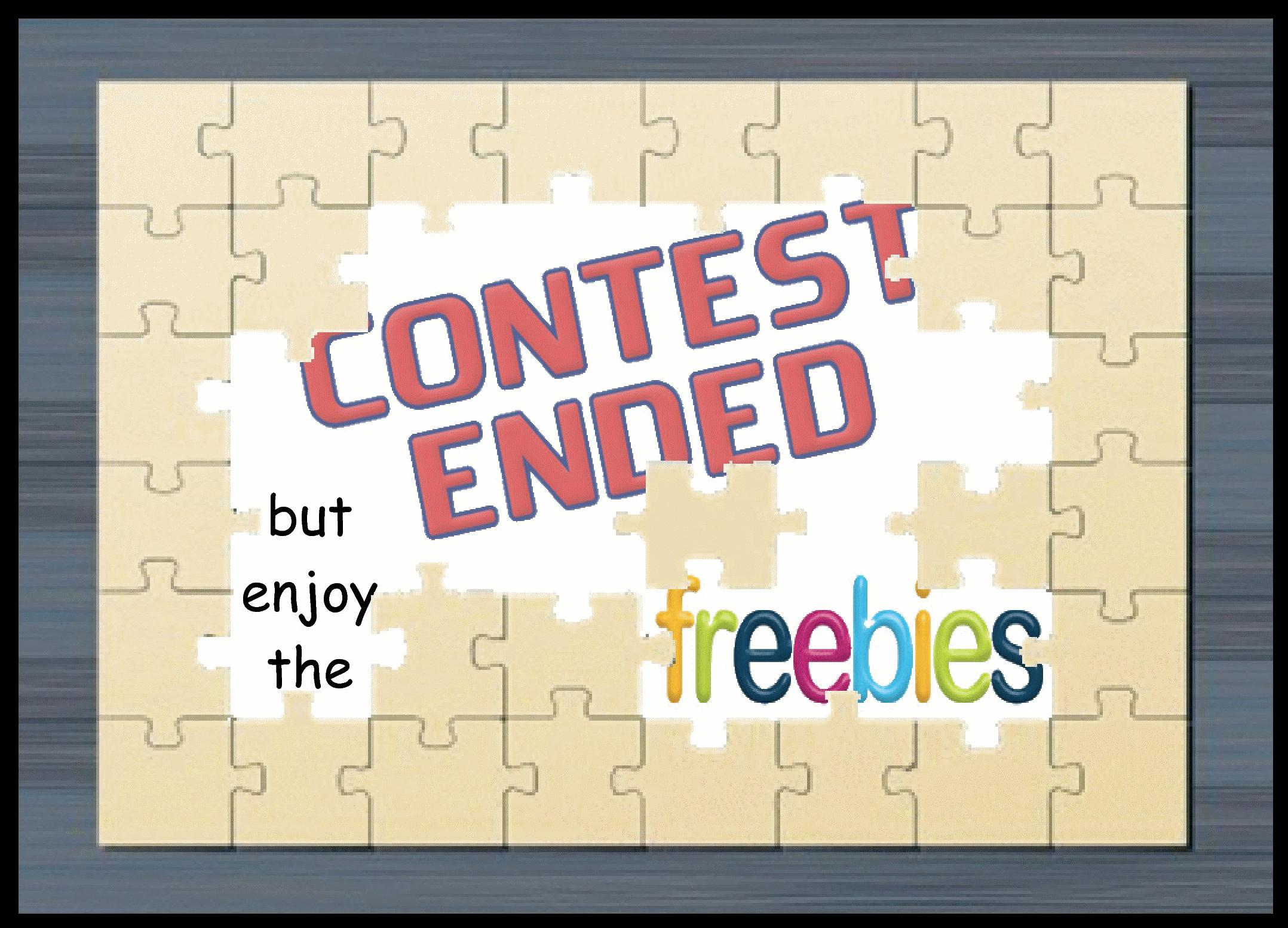ContestEnd-EnjoyFreebies byElaine