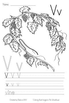 MyBibleABCs Vv write&color byElaine SAMPLE